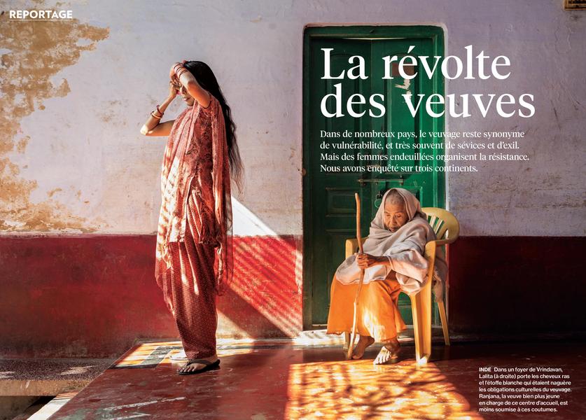 National Géographic : La révolte des veuves