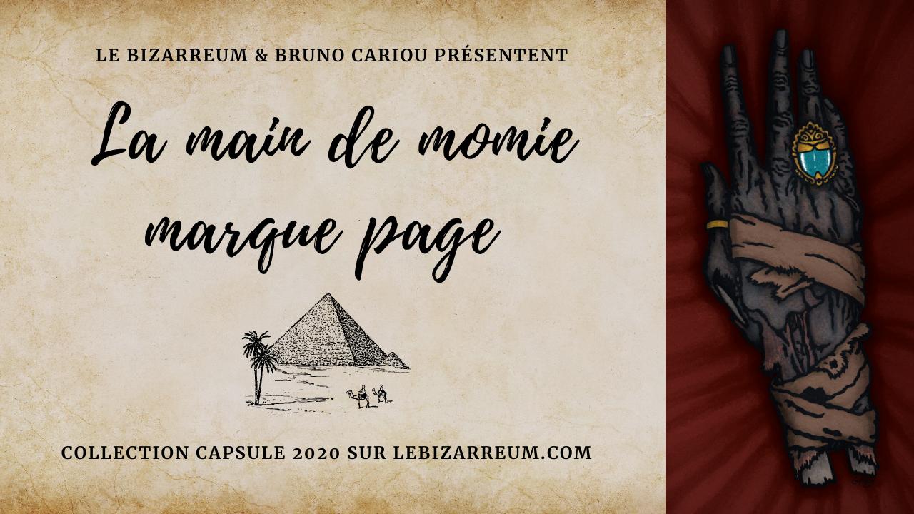 marque page le bizarreum bruno cariou